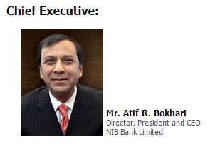 History of the nib bank