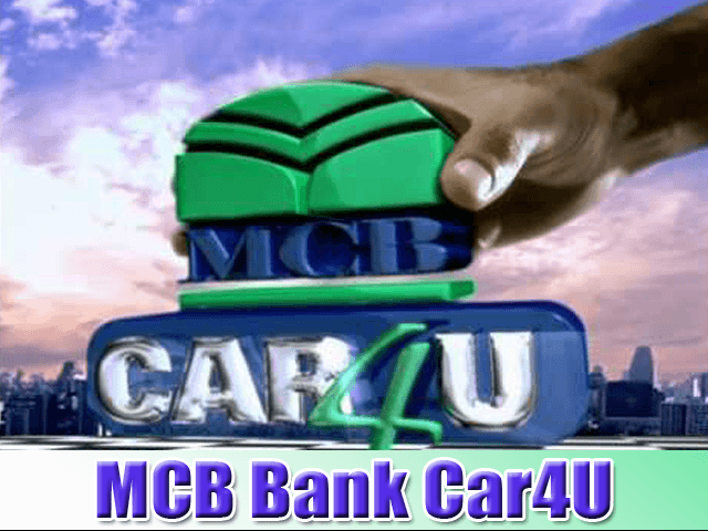 New Car by MCB Bank Car4U Pakistan