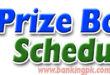 Prize Bond Schedule