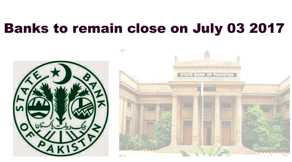 Banks Will Remain Closed til 3 july