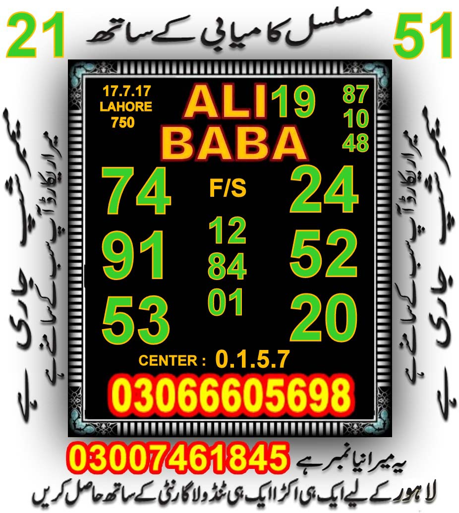 750 prize bond guess papers July 2017 Lahore (4)