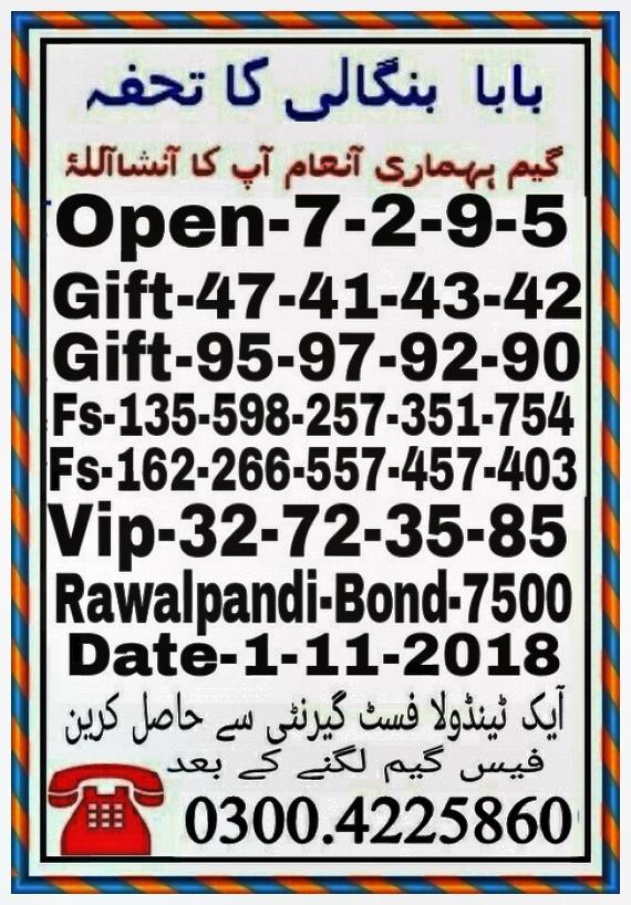 Babar shah1 7500 Guess Paper Nov 201804