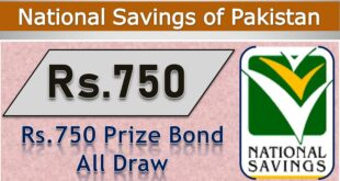 Rs.750 Prize bond Draw
